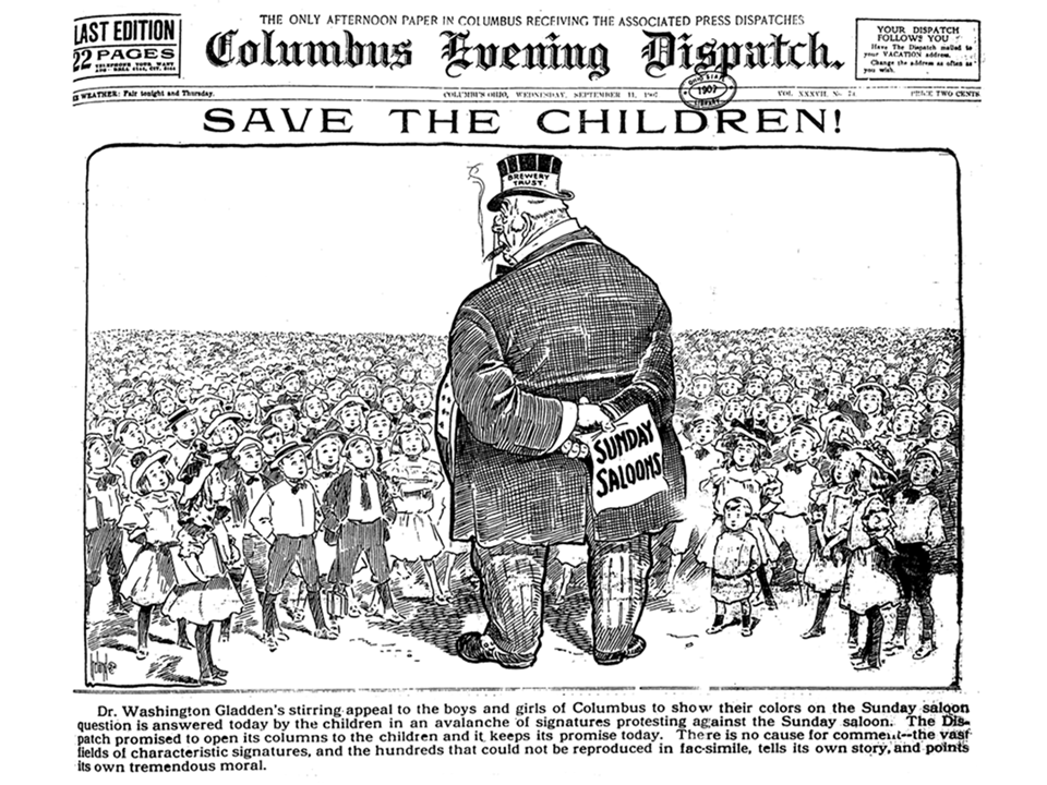 corruption while in your gilded age